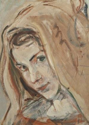 Wlastimil Hofman (1881-1970), Kobieta w chuście