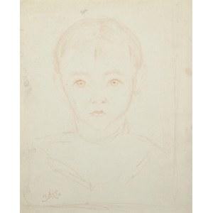 Wlastimil Hofman (1881-1970), Portret dziecka (1926)