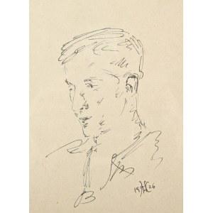 Wlastimil Hofman (1881-1970), Młody mężczyzna (1926)
