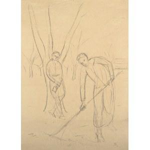 Wlastimil Hofman (1881-1970), W sadzie