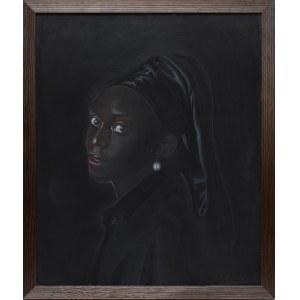 Tomasz Włodarczyk, Portret dziewczyny z perłą, 2020