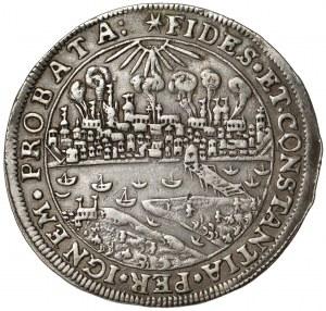 Zygmunt III Waza, Talar Toruń 1629 (Brandtalar) - płonące miasto