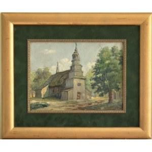 Antoni Kierpal(1898-1960),Kościółek wiejski ,1947