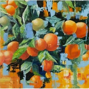 Zofia Wawrzynowicz, Oranges, 2020