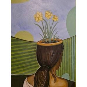 Aga Hayat, Pani z kwiatami