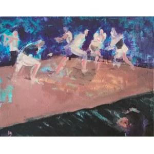 Diana Galińska, Teatr tańca - pływak, 2020