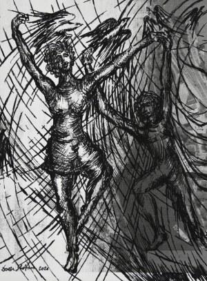 "Stefan Dousa, ""Kompozycja II"", 2021"