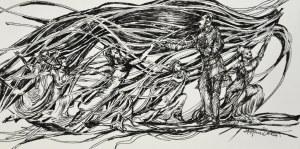 "Stefan Dousa, ""Kompozycja III"", 2021"