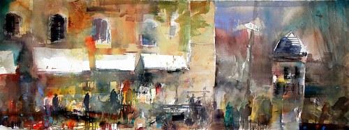 """Krzysztof Ludwin, """"Paryż szary"""", 2018"""
