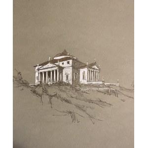 """Janusz Sepioł, """"Villa Rotonda, Włochy"""", 2021"""