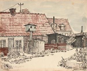 """Henryk Starzyński, """"Domy w Kuźnicy"""", 1967"""