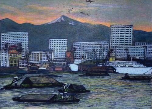 "Richard Wawro, ""Hongkong"", 1976"