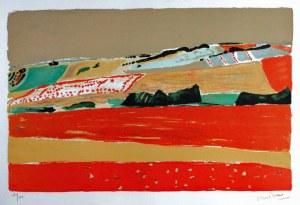 Henryk HAYDEN (1883-1970), Czerwony pejzaż