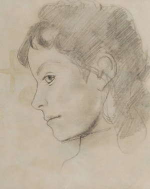 Stanisław WYSPIAŃSKI (1869-1907), Portrety dzieci - zestaw 4 szkiców, 1894