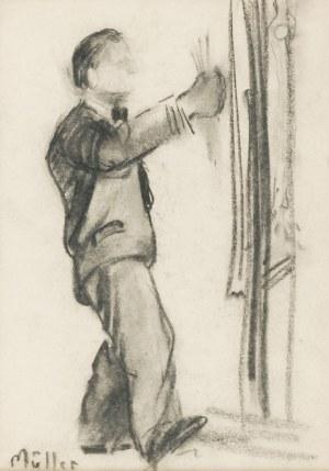 Szymon MÜLLER (1885-1942), Autoportret, ok. 1930