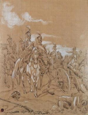 Juliusz KOSSAK (1824-1899), Dał nam przykład Bonaparte, jak zwyciężać mamy, 1893 r.