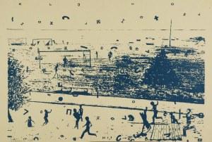 Jan TARASIN (1929-2009), Gry i zabawy, 1976