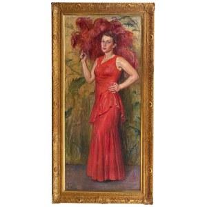 Wincenty Wodzinowski (1866 Igołomnia k. Miechowa - 1940 Kraków), Portret córki artysty – Wincentyny, 1931 r.