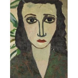 Arika Madeyska (1920 Warszawa - 2004 Paryż), Portret kobiety / Martwa natura
