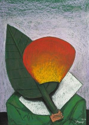 Stasys Eidrigevicius (ur. 1949 Mediniškiai/Litwa), W imię róży, 2020 r.