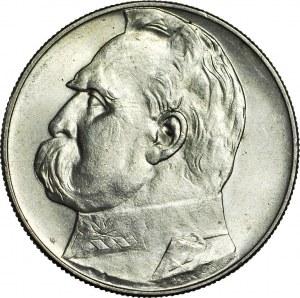 10 złotych 1934, Piłsudski, orzeł URZĘDOWY, menniczy