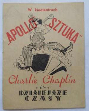 Program filmowy • Dzisiejsze czasy [Charlie Chaplin]