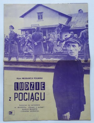 Program filmowy • Ludzie z pociągu [Marian Brandys]