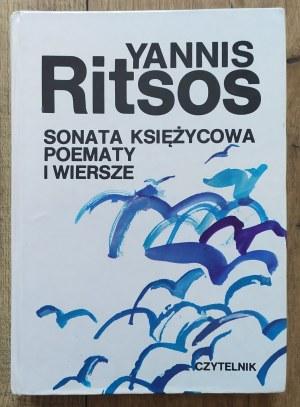 Ritsos Yannis • Sonata księżycowa. Poematy i wiersze
