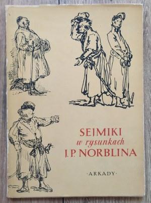 [Norblin] Alicja Kępińska • Sejmiki w rysunkach J. P. Norblina