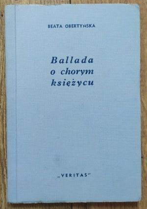 Obertyńska Beata • Ballada o chorym księżycu [dedykacja autorska]