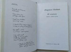 Herbert Zbigniew • 89 wierszy