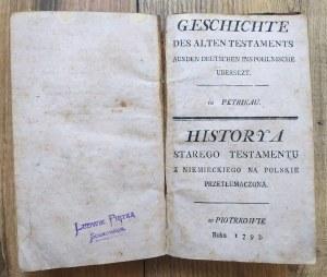 Historya Starego Testamentu [1793]