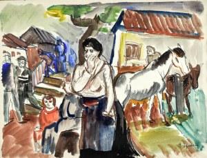 Henryk EPSTEIN (1891 - 1944), Scena wiejska