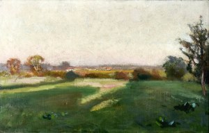 Jan STANISŁAWSKI (1860-1907), Pejzaż z Podola, 1898-1900