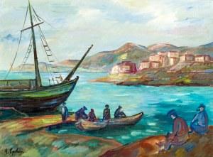 Henryk EPSTEIN (1891 - 1944), Powrót rybaków, około 1927-1930