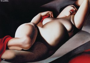 Tamara ŁEMPICKA (1898-1980), La Belle Rafaela, 1927 (2018)