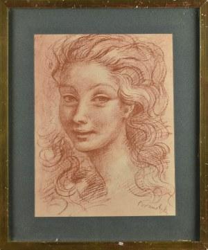 Roman KRAMSZTYK (1885 - 1942), Popiersie kobiety