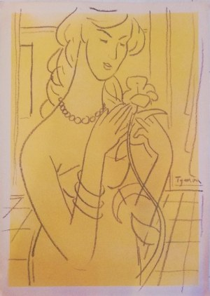 Tymon Niesiołowski(1882-1965),Portret kobiety