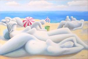 Volker Kunz, Am Strand