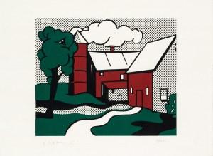 Roy Lichtenstein, Red Barn, 1969