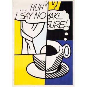 Roy Lichtenstein, HUH?, 1976
