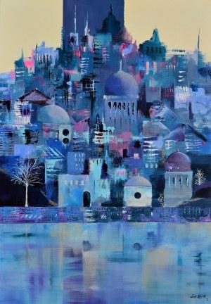 Luiza LOS-PŁAWSZEWSKA (ur. 1963), Arctic City, z cyklu Metamorfozy miast, 2021