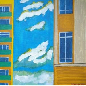 Józef Marszan, Chmury między domami