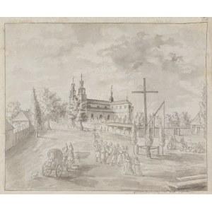Stachowicz Teodor (1800-1873), Kraków. Kościół św. Floriana na Kleparzu, 1826