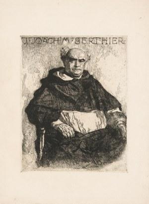 Mehoffer Józef (1869 - 1946), Portret O. Joachima Berthier Dominikanina we Fryburgu w Szwajcarii, 1918
