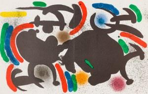 Miró Joan (1893-1983), Kompozycja VII, 1972
