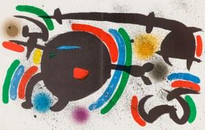 Miró Joan (1893-1983), Kompozycja X, 1972
