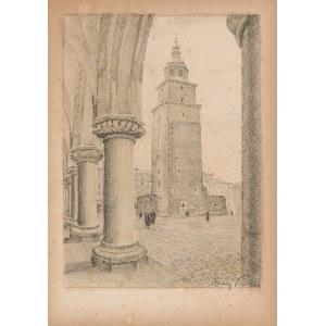 Pinkas Ignacy (1888-1935), Kraków. Wieża Ratuszowa, [1935]