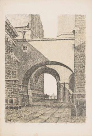 Pinkas Ignacy (1888-1935), Wawel. Dziedziniec Batorego, [1935]