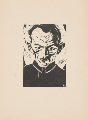 Szmaj Stefan (1893-1970), Autoportret III, 1919 [odbitka 2012]